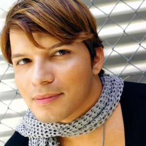 Actor Andy Arias with a childhood sadness that turned to adult strength and success