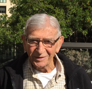 Izzy Pivnick today, father and grandfather, still working to improve lives