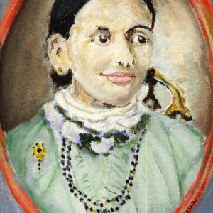 Joseph Branchcomb's portrait of his Great Grandmother Annie Wanzer Allen