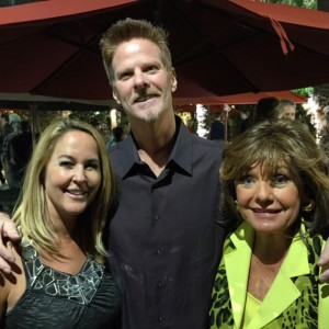 Michael Steiner with Erin Murphy (Tabitha from Bewitched) and Dawn Wells (Mary Ann from Gilligan's Island)