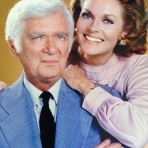 Lee Meriwether with Buddy Ebsen as Barnaby Jones