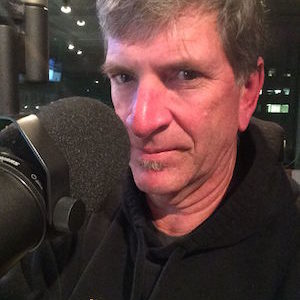 Peter Finch, producer and host of The Finch Files
