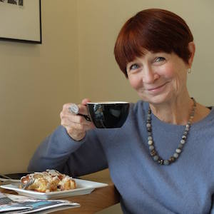 Naomi Rayman, author of the blog Writes Better With Coffee